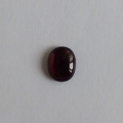 Granaat cabochon ovaal